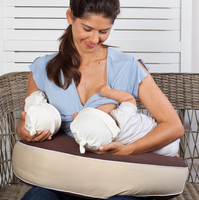 Milkbar - Breastfeeding Pillow, Choc/Sand (Twin)