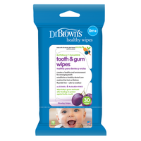 Dr. Brown's - Tooth and Gum Wipes, 30 Wipes