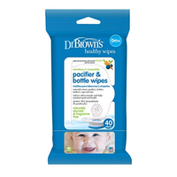 Dr. Brown's - Pacifier and Bottle Wipes, 40 Wipes (HG040)