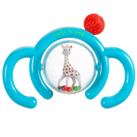 Sophie la girafe - Twin Fraisy Teething Rattle, Blue (010151)