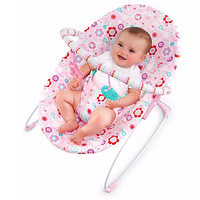 Bright Starts - PIP Vibrating Bouncer, Bouquet Surprise
