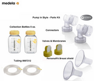 Medela Pump In Style Advanced Parts Kit with Bottles
