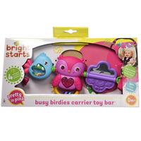 Bright Starts - Busy Birdies Carrier Toy Bar
