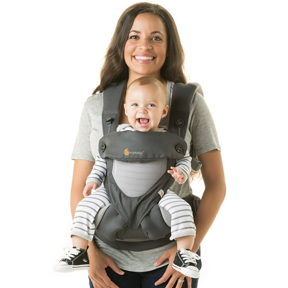 297e0c07cc1 ERGObaby - Four Position 360 Cool Air Mesh Baby Carrier