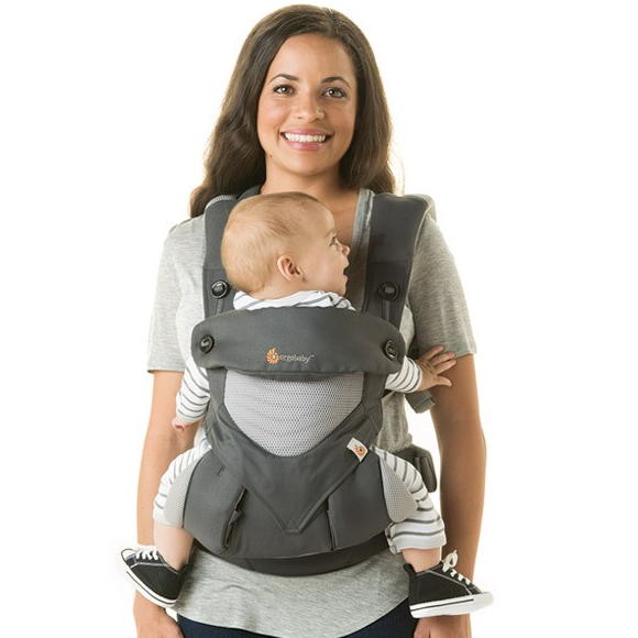 e49399030b2 ERGObaby - Four Position 360 Cool Air Mesh Baby Carrier