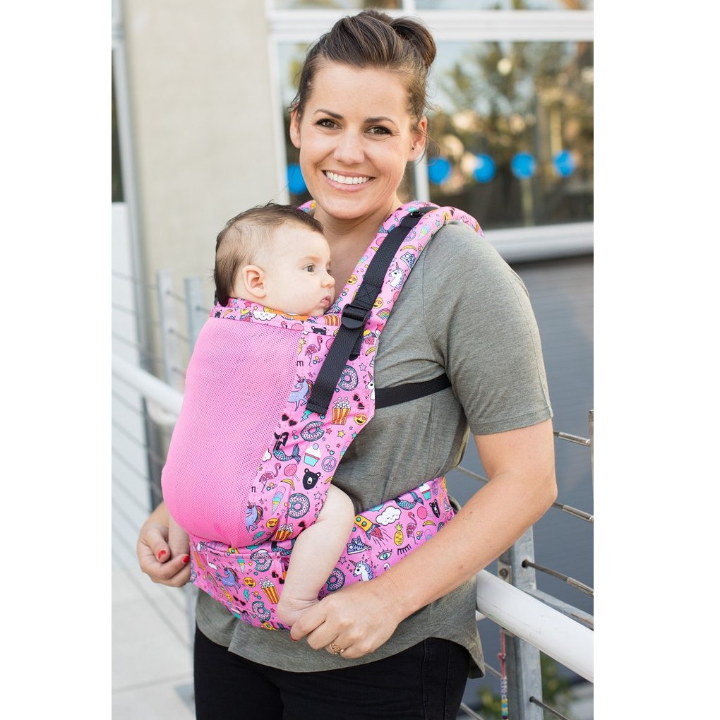 Tula Mesh Toddler Carrier - Coast Stickers