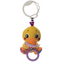 Playgro - Peek-A-Boo Wiggling Duck, 0m+ (0185474)