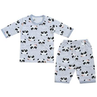 Puco - Jacquard Capri Set, Panda (6 Sizes)
