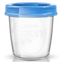 Philips Avent - Breast Milk Storage Cups, 1 Pcs (180ml)