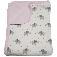 Bebe Bamboo - Bamboo Double Layer Blanket, Elly
