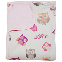 Bebe Bamboo - Bamboo Double Layer Blanket, Owl