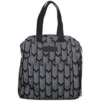 Sarah Wells - Kelly Breast Pump Bag, Black & White