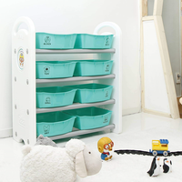 IFAM - Pororo 4 Shelves Toy Organizer