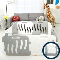 IFAM - Shell Baby Play Yard, 8 pcs set include door (4 Colours)