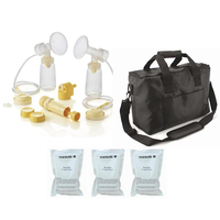 Medela - Symphony/ Lactina Parts Kit + Shoulder Bag (No Breast Pump)