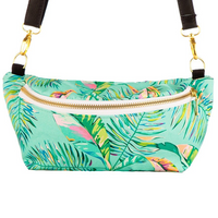Tula - Hip Pouch, Electric Leaves