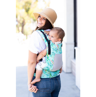 Tula Free-to-Grow Baby Carrier - Coast Electric Leaves