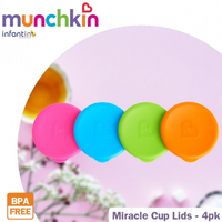 Munchkin - Miracle Cup Lids, 4 Count (17049)