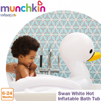 Munchkin - Inflatable Safety Swan Tub (17148)