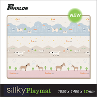 Parklon - Silky Playmat  Animal Town, 1850 x 1400 x 12mm (NEW)