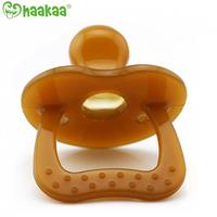 Haakaa - Nano Silver Silicone Pacifier, 1 Count