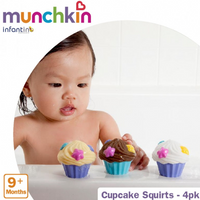 Munchkin - Cupcake Squirts, 4 Counts (MK15707)
