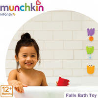 Munchkin - Falls Bath Toy, 4 Counts (MK15925)