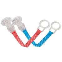Dr Brown's - Pacifier/Teether Clip, 2 Colours (990)