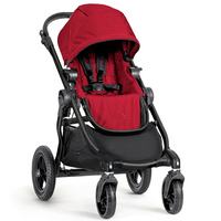 Baby Jogger - City Select, Red (Black Frame)