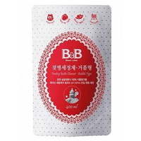 B&B - Feeding Bottle Cleanser, Bubble (Refill/400ml)