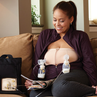Medela Easy Expression Hands Free Pumping Bra (2 Colours )