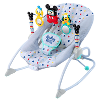 Bright Starts - Mickey Mouse Take-Along Songs Infant to Toddler Rocker™