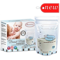 Autumnz - Double ZipLock Breastmilk Storage Bag (25 bags) *7oz*