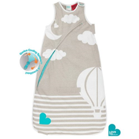 Love to Dream - Inventa 0.5 TOG Sleep Bag, Taupe (4 - 12mth/6 - 9.5kg)