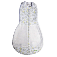 Woombie - Grow With Me AIR, The 5 Stage swaddle & Wearable Blanket (Happy Elephant)