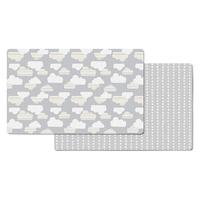 Skip Hop - Doubleplay Reversible Playmat, Clouds (218cm/L x 132cm/W)