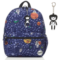 Zip n Zoe - Junior Backpack, Spaceman (ZIZO0506)