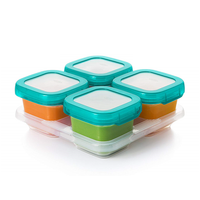 OXO Tot - Baby Blocks Freezer Storage Container, 6oz (Teal)