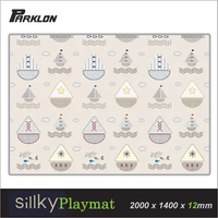 Parklon - Silky Playmat Sailboat, 1400 x 2000 x 12mm