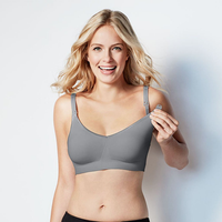 Bravado - Body Silk Seamless Nursing Bra, Silver Belle (5 Sizes)