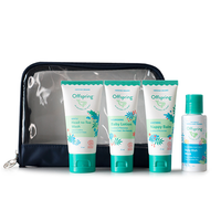 Offspring - Travel Essentials Set With FREE Baby Dish Wash