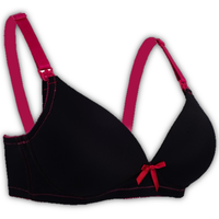 Autumnz - Mystique Nursing Bra (No underwire) - Black/Rose