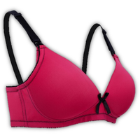Autumnz - Mystique Nursing Bra (No underwire) - Raspberry/Black