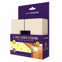 Clevamama - X-Large Corner Cushions, 4pk (3053)