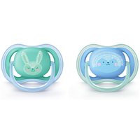 Philips Avent - Ultra Air Soothers 6-18M, Twin Pack (SCF344/22)