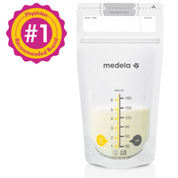 Medela - Breast Milk Storage Bags, 100 bags (6oz/180ml)