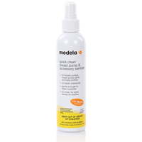 Medela Quick Clean Breast Pump & Accessory Sanitizer  (8oz)