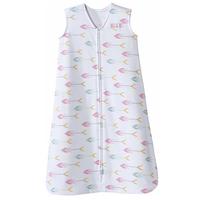 Halo SleepSack 100% Cotton Wearable Blanket, Pink Arrow (Small)
