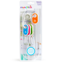 Munchkin Details™ Bottle & Cup Cleaning Brush Set, 4 Pack (27204)