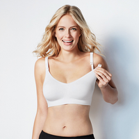 Bravado - Body Silk Seamless Nursing Bra, White (5 Sizes)